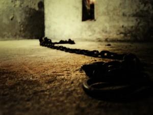 Slave Market holding cell in Stone Town, Zanzibar. © G.S. Matthews.
