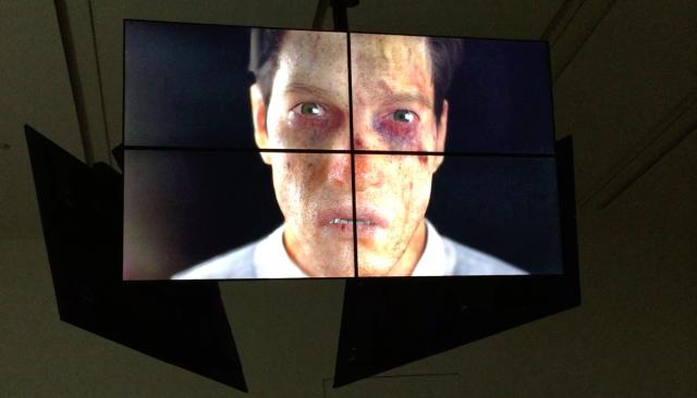 Installationsfoto: Ed Atkins, Safe Conduct (2016), Statens Museum for Kunst, København, Danmark.